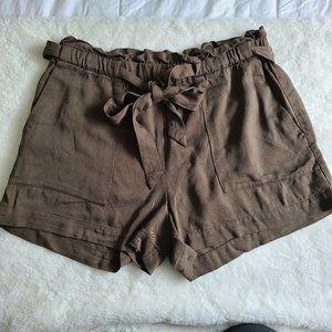 Dynamite green shorts